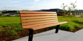 Citistyle Timber Park Seat
