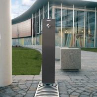 Fuente-R Fountain - Powdercoated from Urban Effects