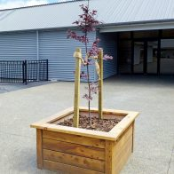 Timber Planter from Urban Effects