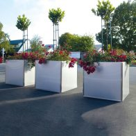 Toi Toi Planter - Square from Urban Effects