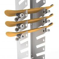 Kiwi Skateboard Rack from Urban Effects