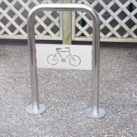 Citistyle Compact Bike Stand with logo from Urban Effects