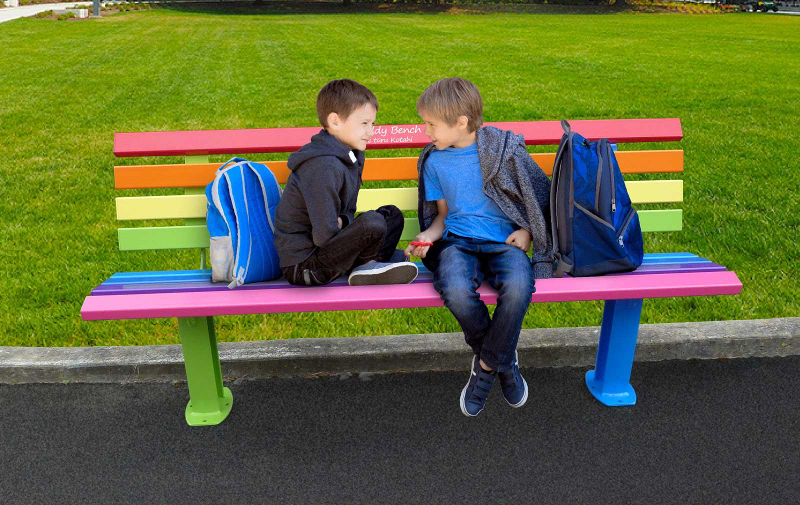 A safe seat: can buddy benches banish bullying and build better communities?