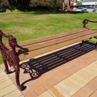 Heritage Style Bench from Urban Effects
