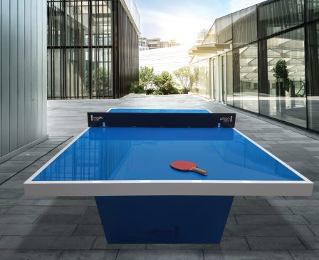 URBE24582 TABLETENNIS TABLE PHOTOSHOPPING
