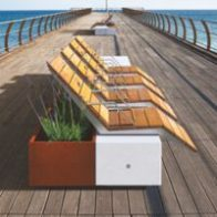 Alterego seating and planters from Urban Effects
