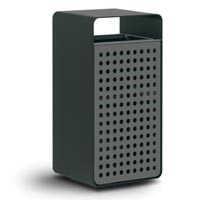 Box wood – iron – line litter bin