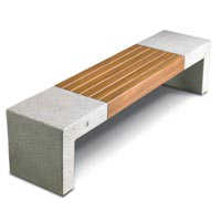 Giada bench - Metalco Products