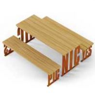 Pic Nic benches table from Urban Effects