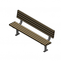 Woodlands Classic Park Seat from Urban Effects